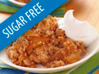 Sugar Free Apple Crisp