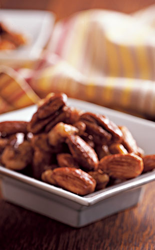 Sugared Cider Nuts